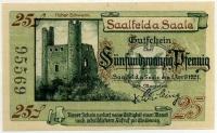 Нотгельд Германия 25 пфенниг 1921 (569) (б)