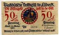 Нотгельд Германия 50 пфенниг 1921 (694) (б)