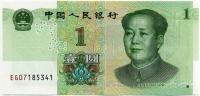 1 юань 2019 новый дизайн Китай (б)