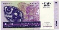 1000 ариари 2004 Мадагаскар (б)