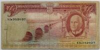 100 эскудо 1962 (037) Ангола (б)