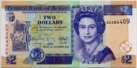 2 доллара 2014 Белиз (б)