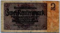 2 марки 1937 (665) № узкий Германия (б)