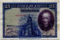 25 песет 1928 (867) Испания (б)