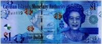 1 доллар 2014 Каймановы острова (б)