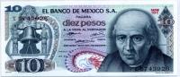 10 песо 1973 Мексика (б)