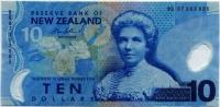 10 долларов (605) полимер Новая Зеландия (б)