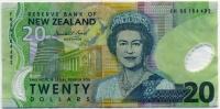 20 долларов (492) полимер Новая Зеландия (б)