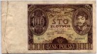 100 злотых 1934 (930) Польша (б)