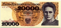 20000 злотых 1989 (161) Польша (б)