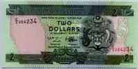 2 доллара Соломоновы острова (б)