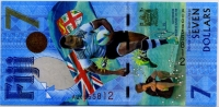 7 долларов ЧМ по футболу Фиджи (б)