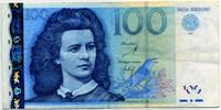 100 крон 2007 (859) Эстония (б)