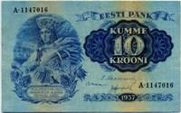 10 крон 1937 (016) Эстония (б)