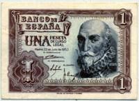 1 песета 1953 (401) Испания (б)