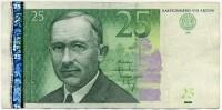 25 крон 2001 (549) Эстония (б)