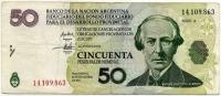 50 песо 2006 Батиста (863) Аргентина (б)