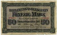 Ковно 50 марок 1918 (109) редкая Германия (б)