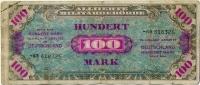 Оккупация 100 марок 1944 (325) Германия (б)