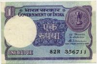1 рупия 1988 Индия (б)