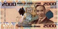 2000 леоне 2010 Сьерра-Леоне (б)
