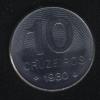 10 крузейро 1980 Бразилия
